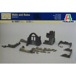 Italeri 6087 1:72 Walls and ruins WWII