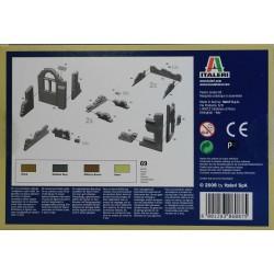 Italeri 6087 1:72 Walls and ruins WWII