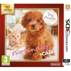 Nintendogs+Cats-Toy Poodle&new Friends Select 3DS