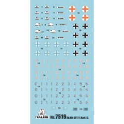 Italeri 7516 1:72 Sd.Kfz.251/1 Ausf.D
