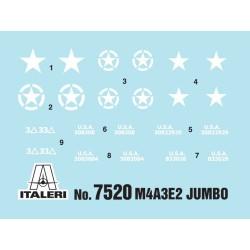 Italeri 7520 1:72 M4A3E2 Jumbo