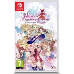 Nelke & The Legendary Alchemists Ateliers of the New World Switch