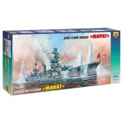 Zvezda 9052 1:350 Soviet Battleship Marat