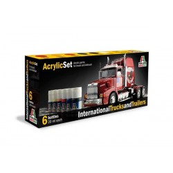 Italeri 435AP International Trucks and Trailers Set