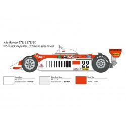 Italeri 4704 1:12 Alfa Romeo 179/179C