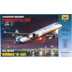 Zvezda 7017 1:144 Airbus A.321