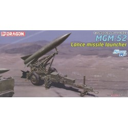 Dragon 3600 1:35 MGM-52 Lance Missile w/Launcher