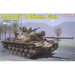 Dragon 3611 1:35 M48A5 105mm Gun
