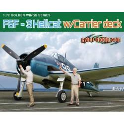 Dragon 5117 1:72 F6F-3 Hellcat w/Flight Deck