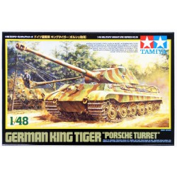 Tamiya 32539 1:48 King Tiger Porsche Turret