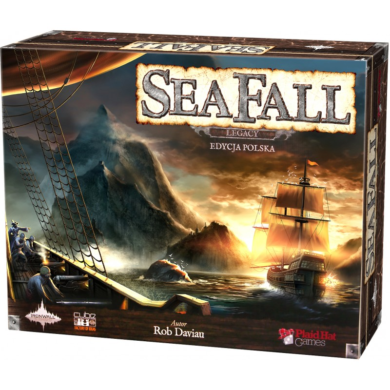 SeaFall Legacy Edycja polska Gra planszowa