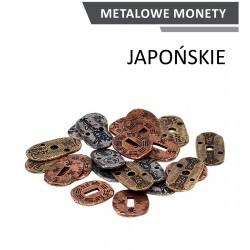 Metalowe monety Japońskie zestaw 24 monet