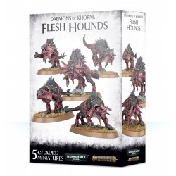 Deamons of Khrone Flesh Hounds Warhammer Age of Sigmar