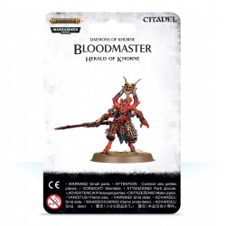 Bloodmaster Herald of Khorne Warhammer Age of Sigmar