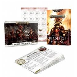 Warscroll Cards Blades of Khorne Warhammer Age of Sigmar