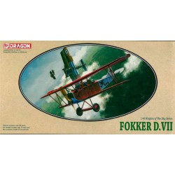 Dragon 5905 1:48 Fokker Dr.VII Knight of the Sky Series