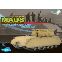 Dragon 60156 1:72 German Super Heavy Tank Maus MUT Boblingen