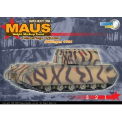 Dragon 60157 1:72 Maus Weight Mock-Up Turret Camouflage