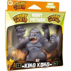 Potwory w Tokio: Nowy potwór King Kong Gra planszowa