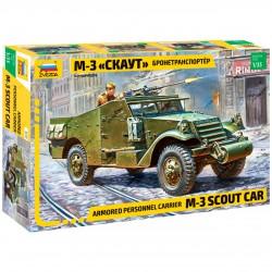 Zvezda 3519 1:35 Scout Car