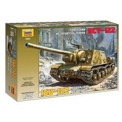 Zvezda 3534 1:35 ISU-122 Soviet self-propelled gun