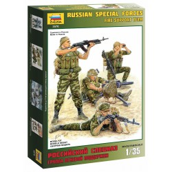 Zvezda 3570 1:35 Russian Special Forces Fire Support Team