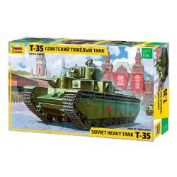 Zvezda 3667 1:35 Soviet Heavy Tank T-35