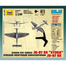 Zvezda 6123 1:144 German Dive Bomber Ju-87 B2 Stuka
