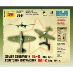 Zvezda 6125 1:144 Soviet Stormovik IL-2