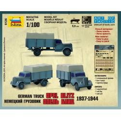 Zvezda 6126 1:100 German truck Opel Blitz 1937-1944