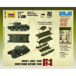 Zvezda 6129 1:100 Soviet Light Tank BT-5