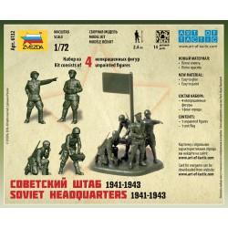 Zvezda 6132 1:72 Soviet Headquarters 1941-1943