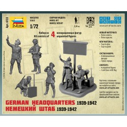 Zvezda 6133 1:72 German Headquarters 1939-1942