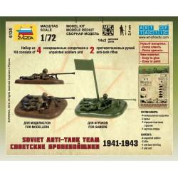 Zvezda 6135 1:72 Soviet Anti-Tank Team 1941-1943