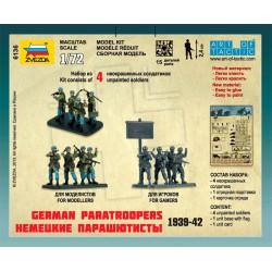 Zvezda 6136 1:72 German Fallschirmjager 1939-1942