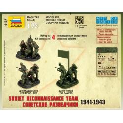 Zvezda 6137 1:72 Soviet Reconnaissance Team 1941-1943