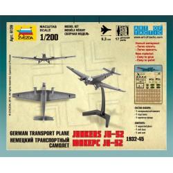 Zvezda 6139 1:200 German transport plane Junkers Ju 52