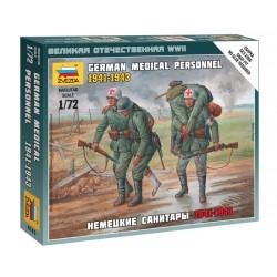 Zvezda 6143 1:72 German Medical Personnel 1941-1943