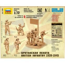 Zvezda 6166 1:72 British Infantry 1939-1945