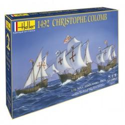 Heller 52910 1:72 Christophe Colomb 1492 Pinta-Nina-Santa Maria