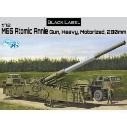 Dragon 7484 1:72 M65 Atomic Annie Gun Heavy Motorized 280mm