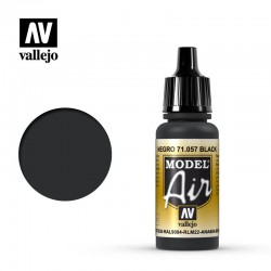 Vallejo 71057 Model Air Black 17ml