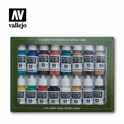 Vallejo 70142 Model Color Zestaw 16 farb Medieval Colors