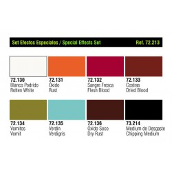 Vallejo 72213 Game Color Zestaw 8 farb Special Effects Set