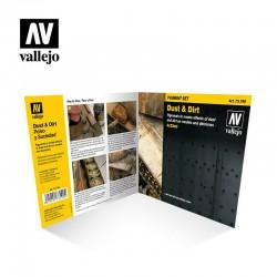 Vallejo 73190 Zestaw 4 pigmeny 35 ml. Dust & Dirt Set