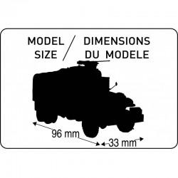 Heller 60996 1:72 Constructor Kit GMC CCKW 353+Figurki Piechota US+podstawka