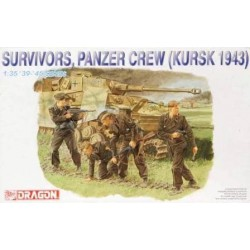 Dragon 6129 1:35 Survivors, Panzer Crew Kursk 1943