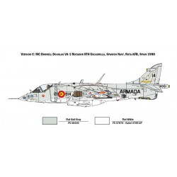 Italeri 1410 1:72 AV-8A Harrier