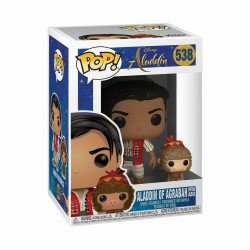Funko POP! Disney: Aladdin of Agrabah with Abu 538 Vinyl Figure