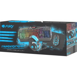 Zestaw dla gracza 4w1 Fury Thunderstreak 2.0